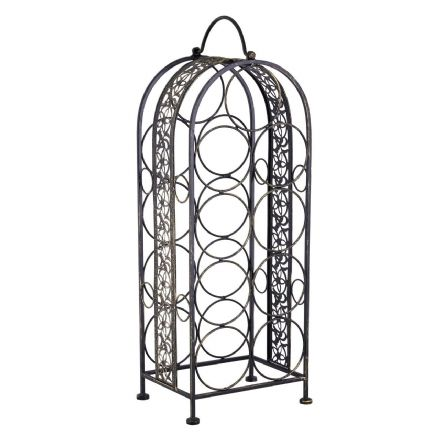 Lexa 9 Bottle Metal Wine Rack